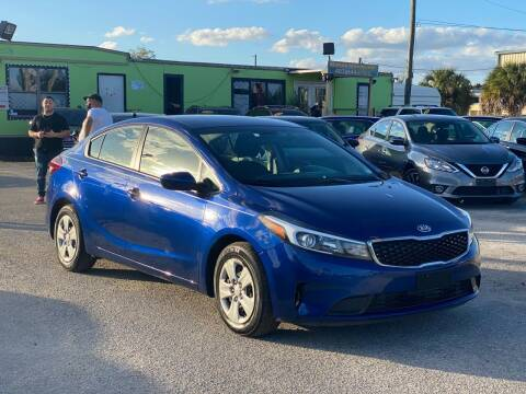 2018 Kia Forte for sale at Marvin Motors in Kissimmee FL