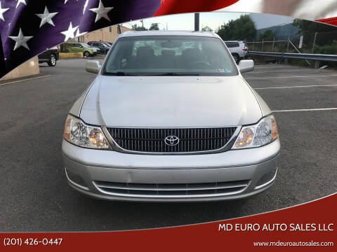 2000 Toyota Avalon for sale at MD Euro Auto Sales LLC in Hasbrouck Heights NJ