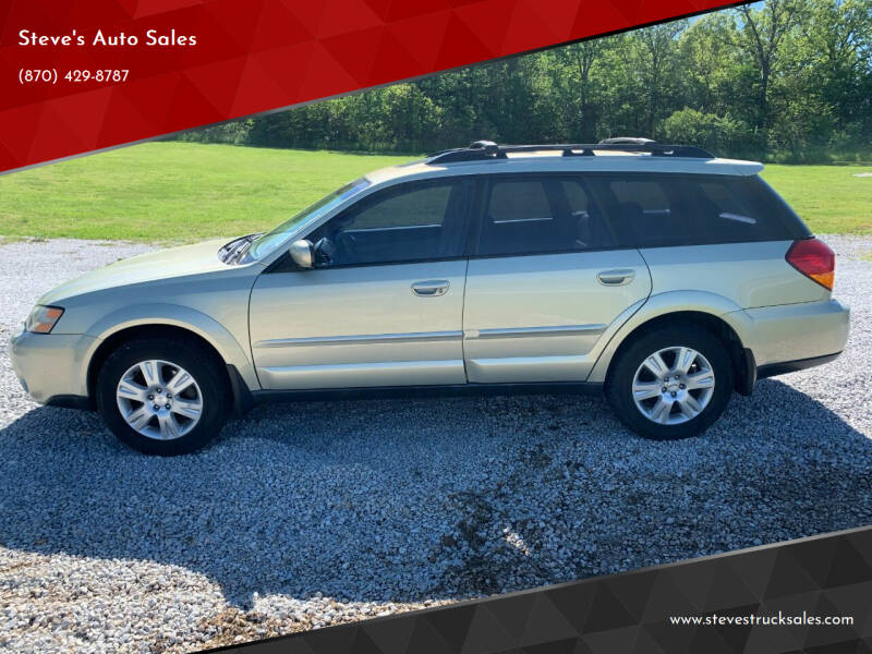2005 Subaru Outback for sale at Steve's Auto Sales in Harrison AR
