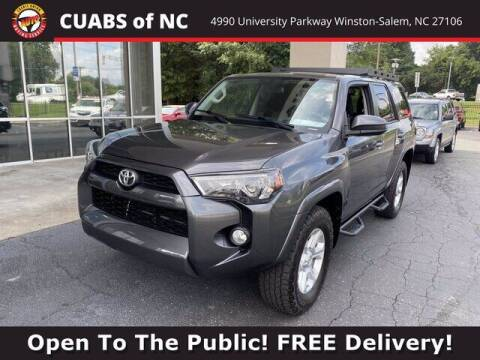 2016 Toyota 4Runner for sale at Credit Union Auto Buying Service in Winston Salem NC