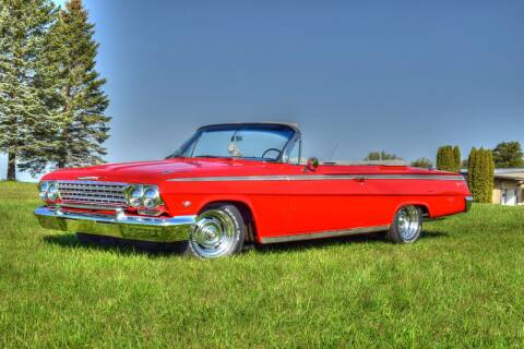 1962 Chevrolet Impala for sale at Hooked On Classics in Watertown MN