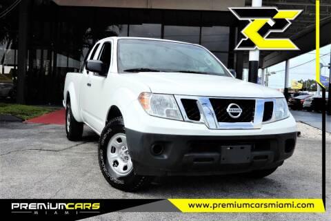 2016 Nissan Frontier for sale at Premium Cars of Miami in Miami FL