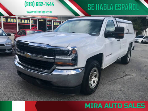2016 Chevrolet Silverado 1500 for sale at Mira Auto Sales in Raleigh NC
