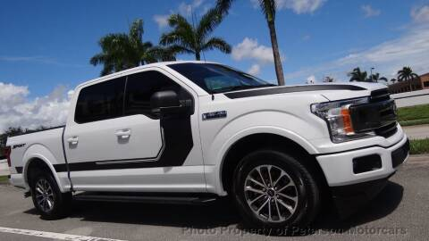 2019 Ford F-150 for sale at MOTORCARS in West Palm Beach FL