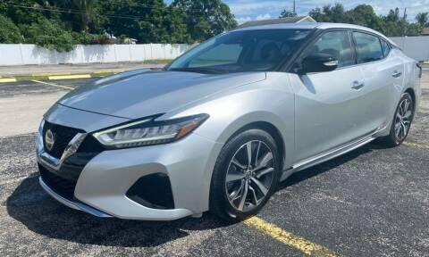2020 Nissan Maxima for sale at Guru Auto Sales in Miramar FL