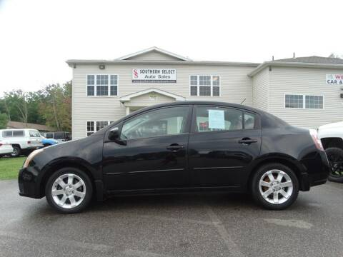 2007 Nissan Sentra for sale at SOUTHERN SELECT AUTO SALES in Medina OH