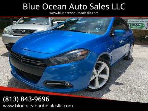 2015 Dodge Dart for sale at Blue Ocean Auto Sales LLC in Tampa FL