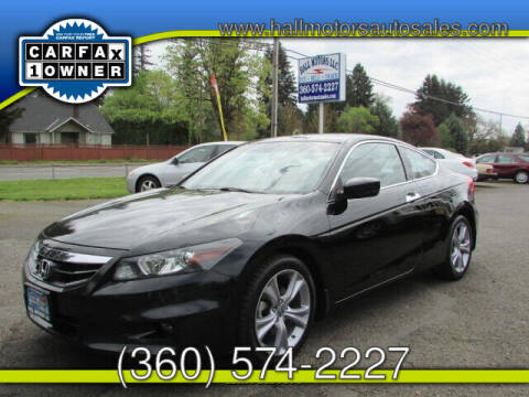 2012 Honda Accord for sale at Hall Motors LLC in Vancouver WA