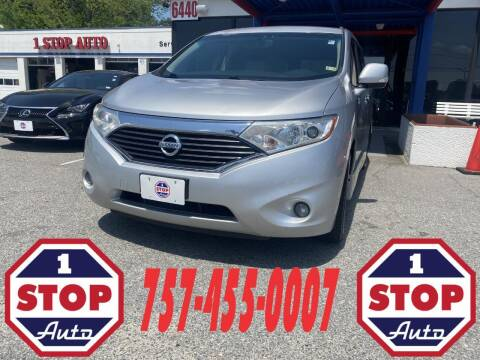 2011 Nissan Quest for sale at 1 Stop Auto in Norfolk VA