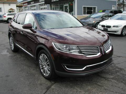 2017 Lincoln MKX for sale at CLASSIC MOTOR CARS in West Allis WI