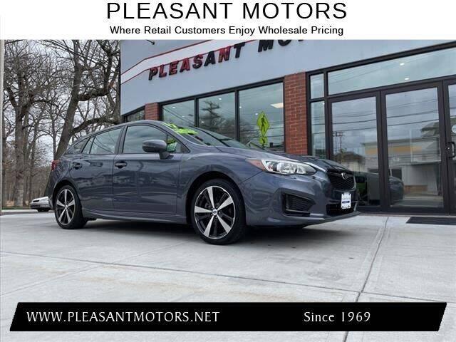2017 Subaru Impreza for sale at Pleasant Motors in New Bedford MA
