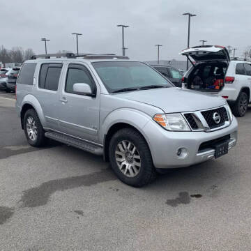 2008 Nissan Pathfinder for sale at American & Import Automotive in Cheektowaga NY