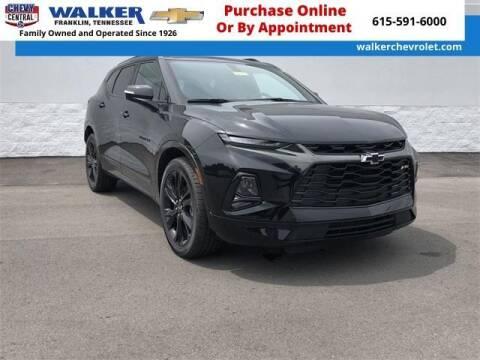 2019 Chevrolet Blazer for sale at WALKER CHEVROLET in Franklin TN