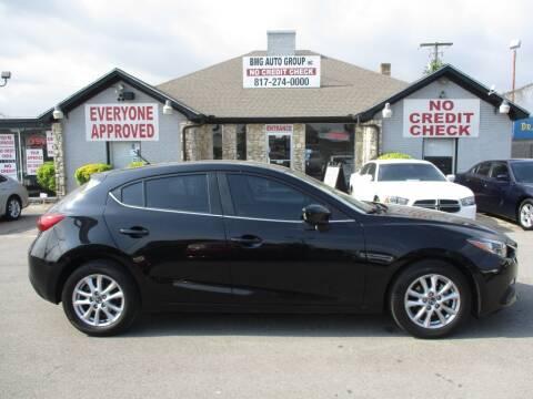 2014 Mazda MAZDA3 for sale at BMG Auto Group Arlington in Arlington TX