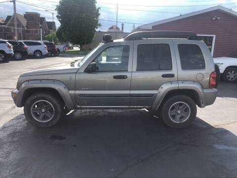 2004 Jeep Liberty for sale at N & J Auto Sales in Warsaw IN