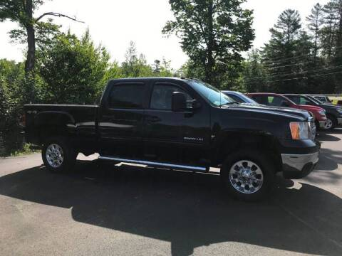 2013 GMC Sierra 2500HD for sale at Mascoma Auto INC in Canaan NH
