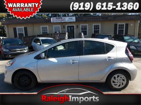 2016 Toyota Prius c for sale at Raleigh Imports in Raleigh NC