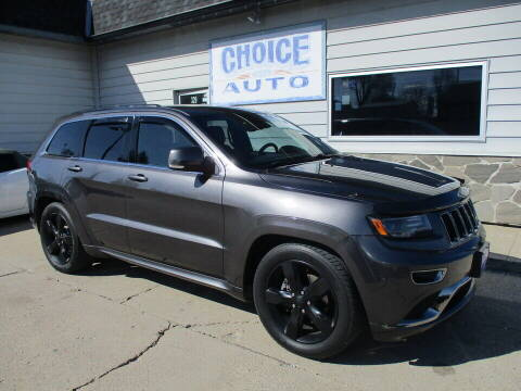 2016 Jeep Grand Cherokee for sale at Choice Auto in Carroll IA