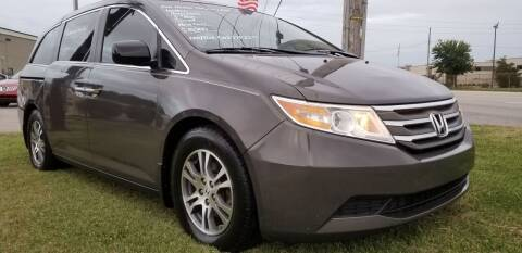 2011 Honda Odyssey for sale at Derby City Automotive in Louisville KY