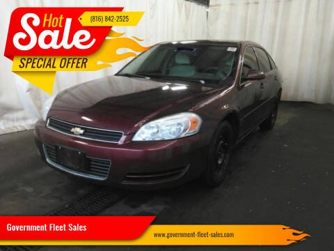 2007 Chevrolet Impala for sale at Government Fleet Sales in Kansas City MO