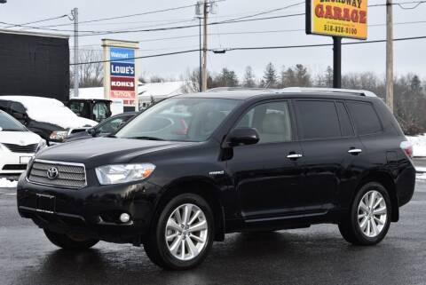 2009 Toyota Highlander Hybrid for sale at Broadway Garage of Columbia County Inc. in Hudson NY
