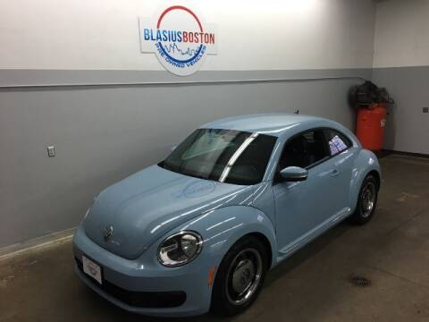 2012 Volkswagen Beetle for sale at WCG Enterprises in Holliston MA