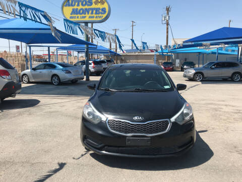 2014 Kia Forte for sale at Autos Montes in Socorro TX