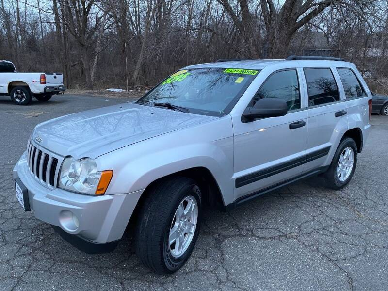 2006 Jeep Grand Cherokee for sale at East Windsor Auto in East Windsor CT