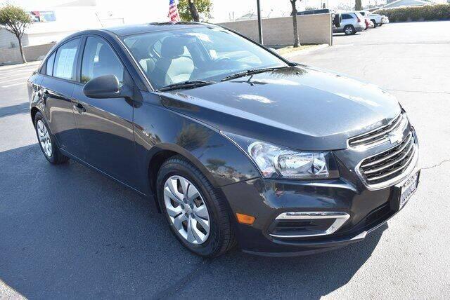2016 Chevrolet Cruze Limited for sale in Hemet, CA