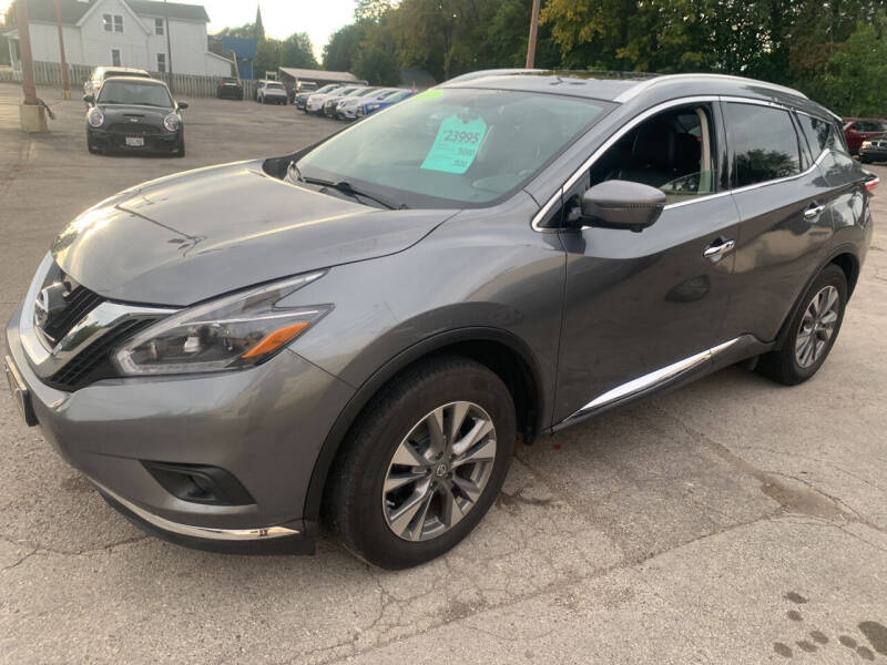 2018 Nissan Murano for sale at PAPERLAND MOTORS in Green Bay WI