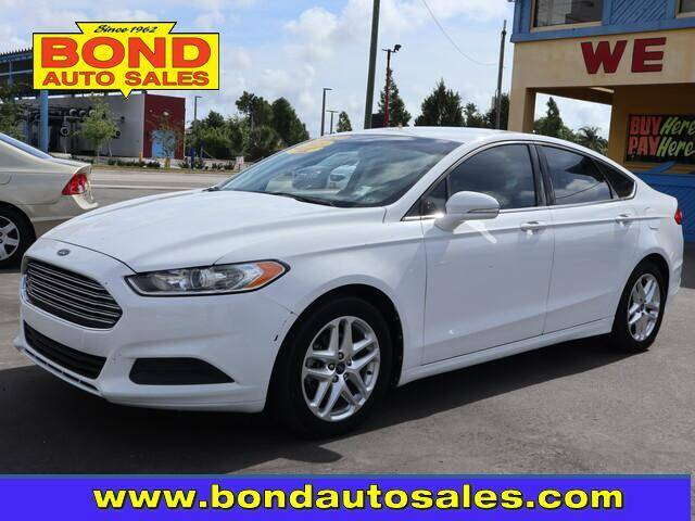 2013 Ford Fusion for sale at Bond Auto Sales in St Petersburg FL