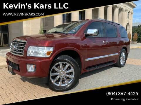 2010 Infiniti QX56 for sale at Kevin's Kars LLC in Richmond VA