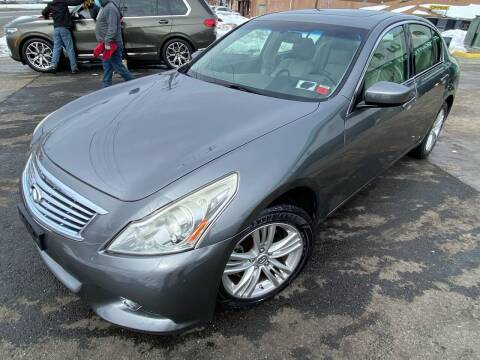 2011 Infiniti G25 Sedan for sale at MFT Auction in Lodi NJ