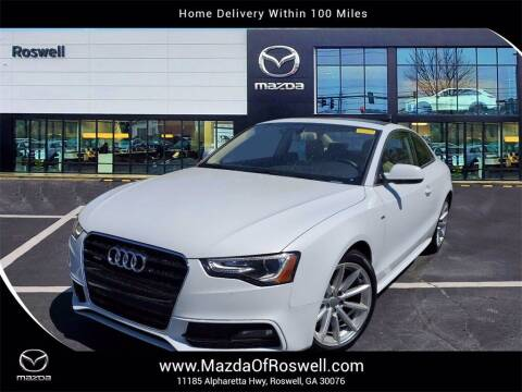 2016 Audi A5 for sale at Mazda Of Roswell in Roswell GA