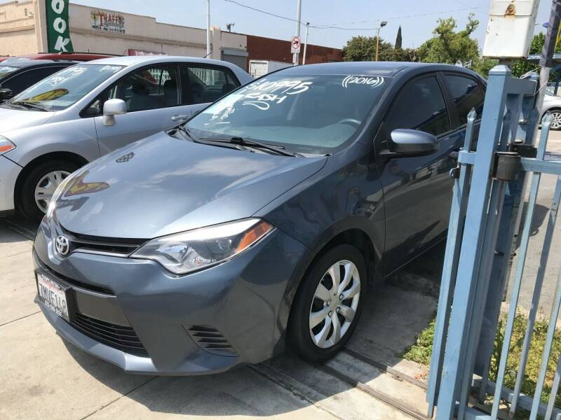 2016 Toyota Corolla for sale at Olympic Motors in Los Angeles CA
