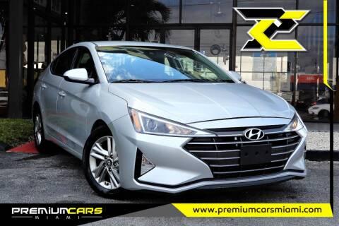 2019 Hyundai Elantra for sale at Premium Cars of Miami in Miami FL