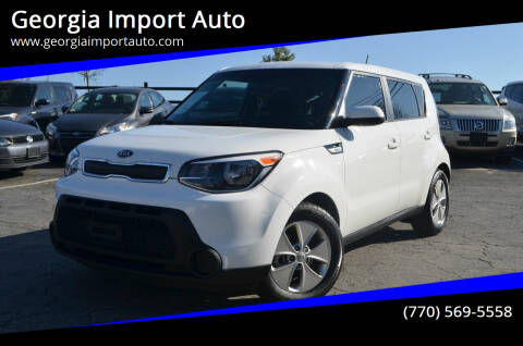 2016 Kia Soul for sale at Georgia Import Auto in Alpharetta GA