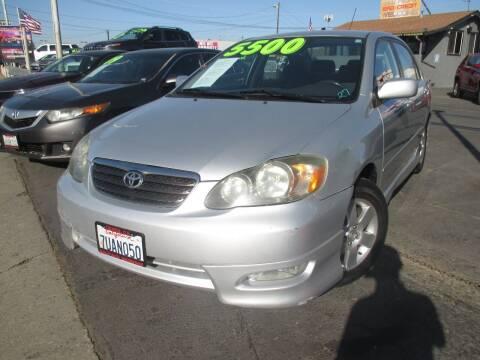 2005 Toyota Corolla for sale at Quick Auto Sales in Modesto CA