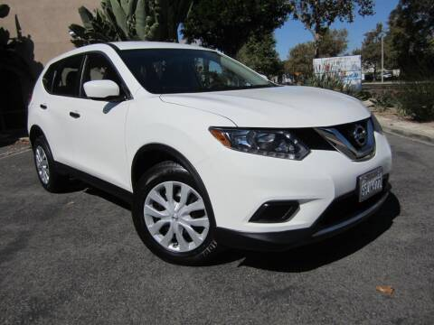 2016 Nissan Rogue for sale at ORANGE COUNTY AUTO WHOLESALE in Irvine CA