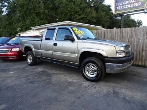 2003 Chevrolet Silverado 2500HD for sale at DONNY MILLS AUTO SALES in Largo FL