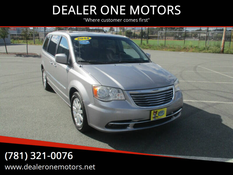 2014 Chrysler Town and Country for sale at DEALER ONE MOTORS in Malden MA