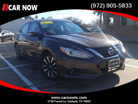 2017 Nissan Altima for sale at Car Now in Dallas TX