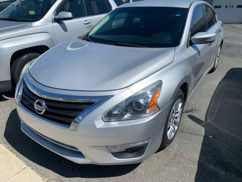 2014 Nissan Altima for sale at Better Auto in South Darthmouth MA