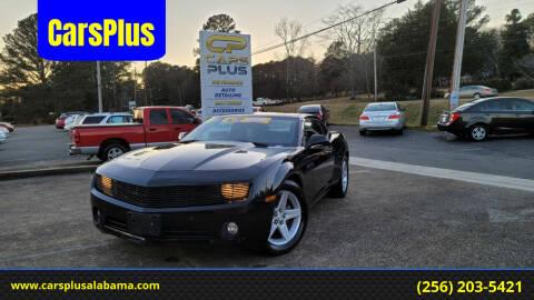 2011 Chevrolet Camaro for sale at CarsPlus in Scottsboro AL