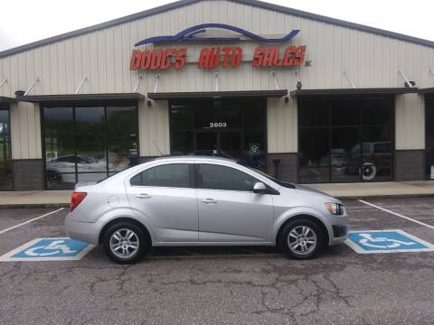 2015 Chevrolet Sonic for sale at DOUG'S AUTO SALES INC in Pleasant View TN