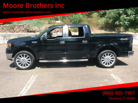 2007 Ford F-150 for sale at Moore Brothers Inc in Portland CT