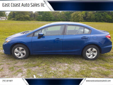 2015 Honda Civic for sale at East Coast Auto Sales llc in Virginia Beach VA