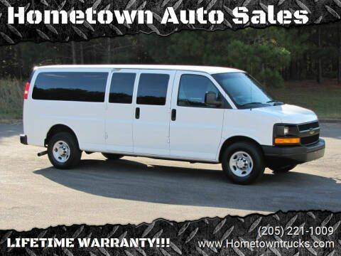 2012 Chevrolet Express Passenger for sale at Hometown Auto Sales - SUVS in Jasper AL