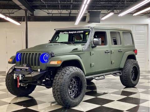 2020 Jeep Wrangler Unlimited for sale at South Florida Jeeps in Fort Lauderdale FL