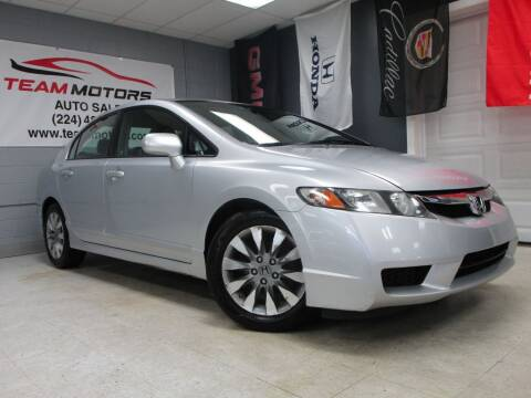 2010 Honda Civic for sale at TEAM MOTORS LLC in East Dundee IL